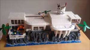 iron man custom lego tony stark mansion modular youtube