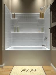 Corner Tub Bathroom Ideas by Tub And Shower One Piece Another Diamond Option With More Shelf