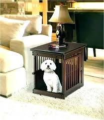 dog kennel side table crate end table pet crate end table dog crate coffee table plans