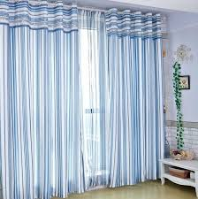 light blue striped curtains blue bedroom curtains sportfuel club