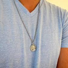 mens necklace pendant images Men 39 s necklace men 39 s wishbone necklace men 39 s silver necklace jpg