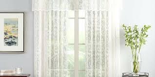 Lace Trim Curtains Lace Curtains Band Antique Lace Curtain W Ornate Bottom