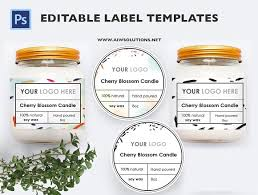 Product Label Templates product label id13 stationery templates creative market
