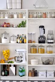 ikea kitchen pantry storage cabinet open pantry using bookshelves home