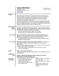 Example Of Great Resumes by Samples Great Resumes