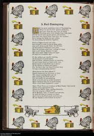 thanksgiving rhyme mecharchival then engineer now archivist