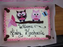 owl cakes for baby shower owl baby shower cake blondie s theme cakes shower