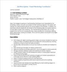 13 marketing coordinator job description templates free sample