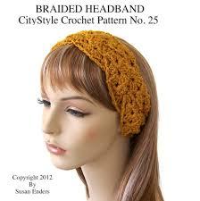 crochet ear warmer headband crochet headband pattern braided headband crochet headwrap