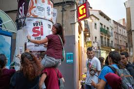 catalans elated but fearful brace for independence vote the