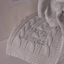 Baby Blanket Comforter Personalised Baby Blanket And Bunny Comforter Gift Set By That U0027s
