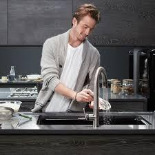 kohler k 72218 b7 cp sensate polished chrome pullout spray kitchen