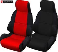 corvette seat covers c4 c4 1984 1996 neoprene seat covers