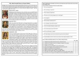 reading comprehension worksheets esl x 20 by mariapht teaching