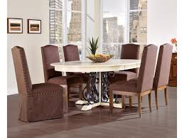 canadel custom dining customizable round table with leaf set