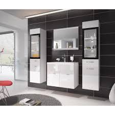 bassine pour bain de si e meuble de salle de bain de xl 60x35cm bassin en bois blanc