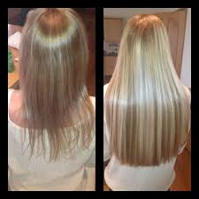 Keratin Tipped Hair Extensions by Weave Hair Extensions Before And After Photos Indian Remy Hair