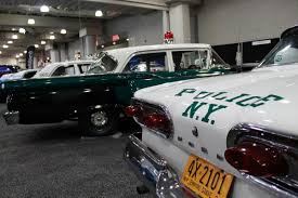 vintage cars 1950s nypd displays historical collection of cop cars at 2016 new york
