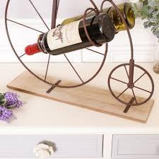 vintage penny farthing bicycle wine rack