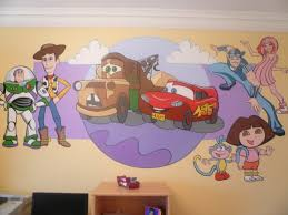 murals and paintings for play areas stuart montgomery commercial toystory