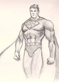how to draw superman drawing and digital painting tutorials online