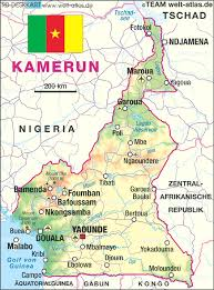 map of cameroon map of cameroon map in the atlas of the atlas