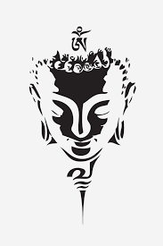 dessin tribal facile buddah face u0027 t shirt by create or die designs buddha tattoo and