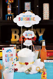 themes for baby showers cool summer baby shower decoration ideas