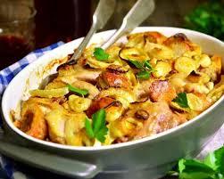 cuisiner cuisse de poulet au four recette cuisses de dinde et légumes rôtis au four facile rapide