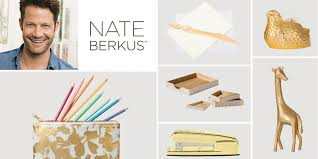 nate berkus on the insta famous golden stapler and other fan