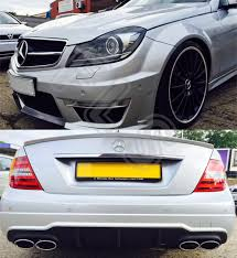 mercedes benz amg c63 full conversion with headlights for 07 12