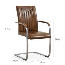 Dining Room Chair Dimensions by Hutch Industrial Retro Stitch Pu Leather Carver Dining Chair