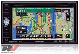 nissan titan navigation system gps navigation systems tech review rv magazine