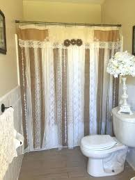 Lace Shower Curtains Sheer Lace Shower Curtains U2013 Teawing Co
