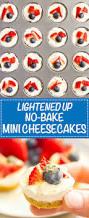 healthy no bake mini cheesecake bites family food on the table