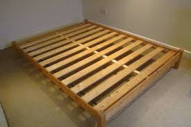 pine kingsize bed frame in whitchurch cardiff gumtree