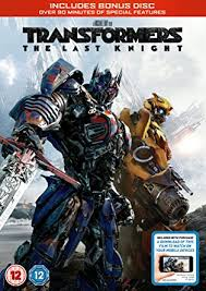transformers the last knight dvd bonus disc digital download