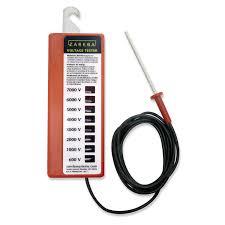amazon com zareba rsvt8 eight light voltage tester electric