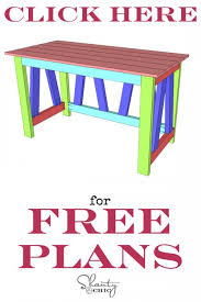 Free Woodworking Plans For Outdoor Table by Woodworking Plans Diy Desk