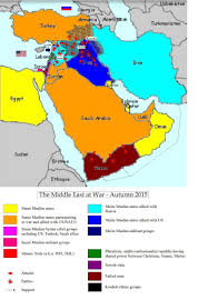Middle East Map by The Middle East At War U2013 Autumn 2015 Map The Secular Jurist