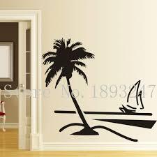 Palm Tree Bathroom Accessories by Online Get Cheap Sailboat Bathroom Decor Aliexpress Com Alibaba