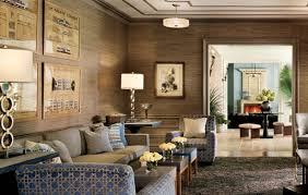 decorating elegant interior wall decor with exciting grasscloth elegant lving room design with grasscloth wallpaper and drum chandelier plus decorative armchairs also gray shag