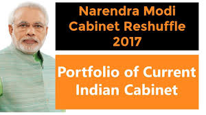 Portfolio Of Cabinet Ministers Of India List Of Reshuffled Indian Ministers 2017 Portfolio Of Current