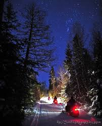 7trees motorbike motocross atv dirt a starry snowmobile ride in northern maine paul cyr photography