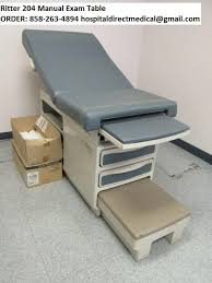 refurbished exam tables for sale ritter 204 exam table for sale refurbished used order 858 263 4894