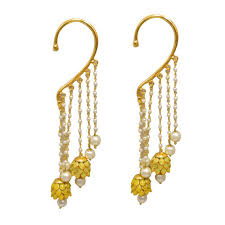 kaan earrings ear cuff at rs 450 pair cuff earrings earring cuffs kaan ke
