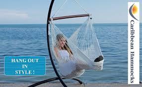 amazon com caribbean hammock chair with footrest 40 inch
