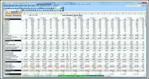 cash flow excel forecast template templates business plan projec