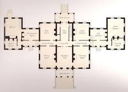 Luxury Home Floor Plans by Chateau Luxury Home Plans On Historic English Manor Floor Plans