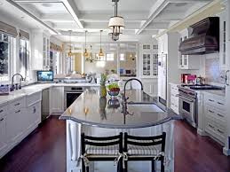 Kitchen Ceiling Ideas Pictures by Round Kitchen Islands Pictures Ideas U0026 Tips From Hgtv Hgtv